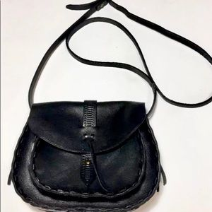 NWOT Madewell Genuine Leather Black Asheville Bag